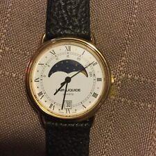 Harley Swiss Made Quartz retirement watch moon, night rotation needs battery