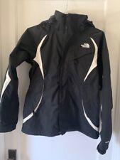 The North Face Parka Jacket Womens Medium Black Hooded Coat Womens