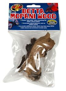 3X Zoo Med Betta Mopani Wood. **Free Shipping**
