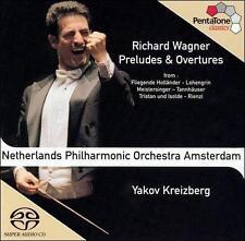 Wagner: Preludes & Overtures [Hybrid SACD], New Music