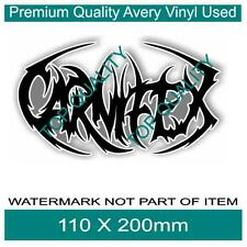 CARNIFEX DECAL STICKER HEAVY METAL MUSIC BAND DECALS STICKERS