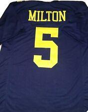 New Joe Milton Michigan XL College Custom Stitched Football Jersey Men's
