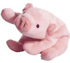 TY Beanie Baby - SQUEALER The Pig (1993) RETIRED