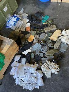 175 Paar Handschuhe gemischt US UK NATO NVA BW etc. KONVOLUT