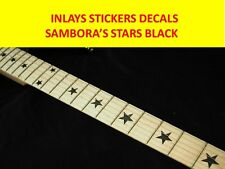 STICKER INLAY SAMBORA STARS BLACK FRETBOARD VISIT OUR STORE WITH MANY MORE MODEL
