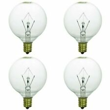 25 Watt Warmer Light Bulb  Candle Wax Fragrance Diffuser 4pk Dimmable
