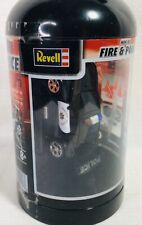 """Mini Police Car RC Remote Control 27MHz 3"""" Revell Fire Extinguisher Bottle"""