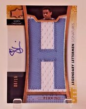 2014-15 Upper Deck Lettermen SAM PERKINS LETTER PATCH AUTO #08/15 #LL-SP UNC