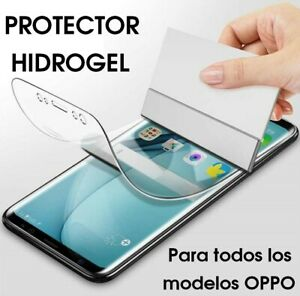 PROTECTOR HIDROGEL PARA OPPO PANTALLA FRONTAL DELANTERO FLEXIBLE CRISTAL