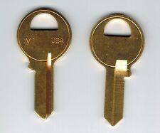 Master Lock M1 Blank Brass Padlock Key Blank X2