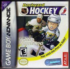 GBA Backyard Hockey ( 2003 ), Nintendo of America, Brand New & Factory Sealed
