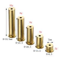 5pcs Golf Brass Shaft Tip Plug Swing Weight Options 2g/4g/6g/8g/10g