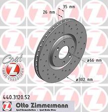 Disco de freno (2 unidades) Sport-disco de freno COAT Z-carpintero 440.3120.52
