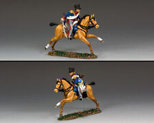 KING & COUNTRY THE AGE OF NAPOLEON NA428 KGL LIGHT DRAGOON CHARGING MIB