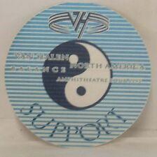 Van Halen / Eddie - Original Tour Concert Cloth Backstage Pass
