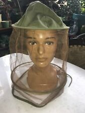 Vtg Beekeeper Veil Hat Apiary Apiculture Antique