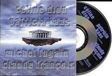 CD CARTONNE COLLECTOR 4T CÉLINE DION/CLAUDE FRANCOIS/FUGAIN/PATRICIA KAAS