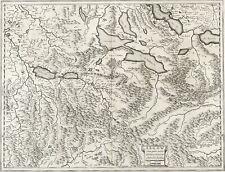 SCHWEIZ - KANTON AARGAU - Mercator - Kupferstich um 1640