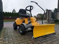 Schneeschild für Rasentraktor 100 x 40 cm Stiga Villa ,  Park Aufsitzmäher