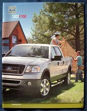 Prospekt brochure 2007 Ford F-150 Pickup (USA)