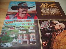 "Charlie Daniels 4 NEAR MINT 12"" vinyl High Lonesome/Saddle Tramp/Whiskey/Windows"