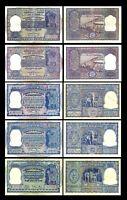 Indien - 2x 100,100,100,100,100 Rupien - Ausg. ND 1949-1970 Reproduktion 07 -100
