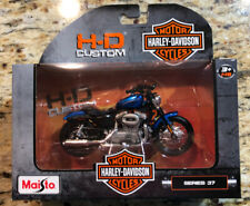 Harley Davidson Motor Cycles HD Custom MAISTO Series 37 2012 XL 1200N Nightster