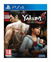 Yakuza 6 The Song of Life Standard Edition PS4 New and Sealed