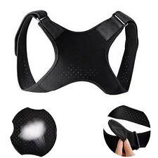 Corrector de postura de la espalda Hombro Soporte recto Brace Terapia cinturón