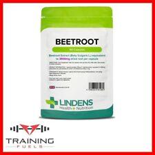 Lindens Beetroot 3500mg 50 Capsules Dietary Nitrates Antioxidant Blood Pressure