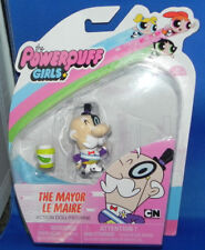 Powerpuff Girls The Mayor Action Doll Figurine Spin Master NIP Le Maire