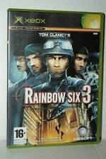 RAINBOW SIX 3 GIOCO USATO BUONO STATO XBOX EDIZIONE ITALIANA PAL RS2 40657