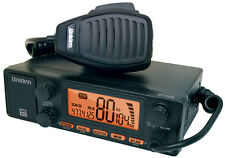UNIDEN UH7750NB UHF CB E-DIN 77 CHANNEL MOBILE RADIO With Antenna System