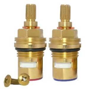 """Replacement tap cartridge valve ceramic disc gland quarter turn 20 teeth 1/2"""""""