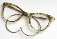 "RETRO kunststoff Federbügel ""Marmor"" Brille. Vintage old marble glasses eyeglass"