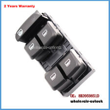 8K0959851D FOR AUDI A4 (B8) A5 Q5 MASTER WINDOW CONTROL SWITCH DRIVER SIDE
