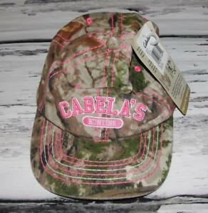 CABELA'S~NWT~WOMEN'S CAMOUFLAGE ZONZ PINK FIELD WOODLANDS HAT~ONE SIZE FITS ALL