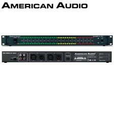 "American Audio dB Display MKII 19"" Rackmount DJ Studio LED Sound Meter Limiter"