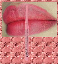 NYX TWIST UP LIP LINER PENCIL~ SOFT PINK ~ ROSE PINK ~ WATERPROOF