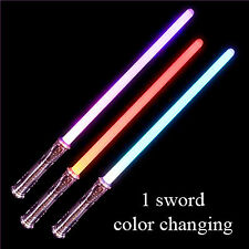 """27.5"""" Light up Motion Activated Saber Sword Color Changing RM4295"""