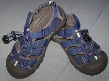 Keen Newport Waterproof Sport Sandals Shoes Navy Youth size 3 EUC