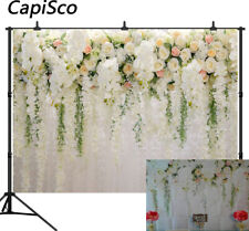 Rose Floral Backdrops Bridal Shower Wedding Flowers Wall Photography Backgrounds