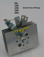 PMS Gleichrichter 66A  120A  170A  180A  200A ampere für MIG MAG Schweißgerät