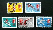Russia-1964-Tokyo Olympic Games-Part set 5 of 6-Used