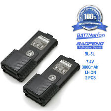 "1 pcs 7.5/"" Dual-Band 144//430Mhz SMA-F Antenna 1 BAOFENG  UV-5R-L  7.4V"