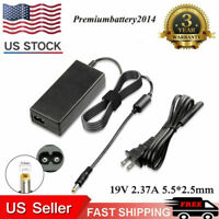 19V 2.37A  Laptop Charger AC Adapter Power Cord Supply For Toshiba Satellite US