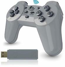 JoyRetro 2.4ghz Wireless Controller for PlayStation Classic Mini [TURBO EDITION]