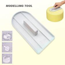 Cake Decorating Smoother Tool Paddle Icing SugerCraft Baking Fondant Finisher UK