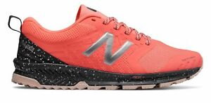 New Balance Women's FuelCore NITREL Trail Shoes Pink with Grey & Purple