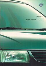 VOLKSWAGEN POLO Coupé 1998-99 Regno Unito delle vendite sul mercato opuscolo L CL GL 16V